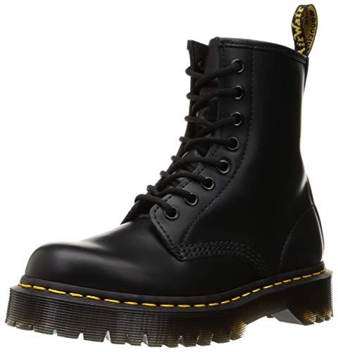 Dr. Martens Unisex DM25345001_42 bovver boots, Black, EU