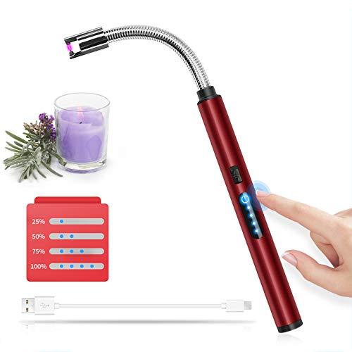 HOTERB Accendino Elettrico USB,Accendigas Elettrico Cucina Accendigas...