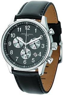 ヨーグ グレイ Jorg Gray JG5500-23 Men's Watch Chronograph Gray Dial With Black Leather Strap 男性 メンズ 腕時計 【並行輸入品】