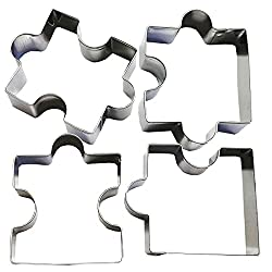 Puzzle Piece Cookie Cutters