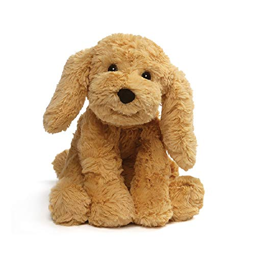 GUND Cozys Collection Puppy Dog Stuffed Animal Plush, Tan, 8""
