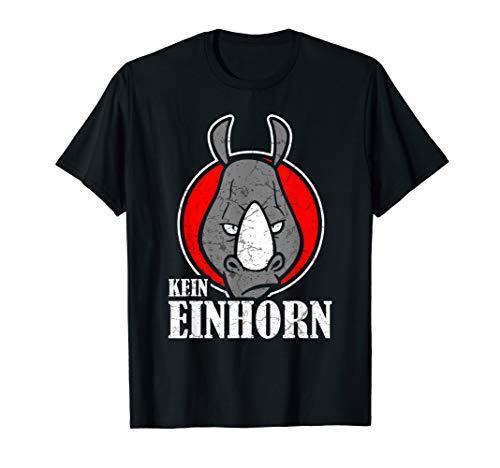 Rhinozeros Nashorn Safari Wilde Tiere Tierisch Geschenk T-Shirt