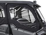2016-2021 Genuine Honda OE Pioneer 1000 3P 5P SXS Fabric Front Door Set (Updated Doors) - Black 0SR90-HL4-212A