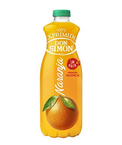 Zumo Don Simon - Zumo refrigerado de naranja - Sin pulpa - 1 l