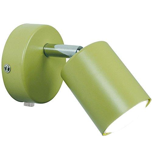 Nordlux LED muurspot EXPLORE, 3W LED SMD, GU10, 2700K, 200lm, IP20, groen EEK: A+