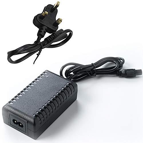 Cargador de batería de 42 V 2 A, Conector en línea de...