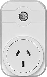 Smart Plug,WiFi Socket Compatible with Alexa and Google Assistant, No Hub Required, App Support Control Your Devices from ...