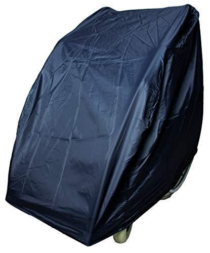 Rollator-Garage mit Gewichtsband, schwarz - Schutzabdeckung Schmutzhaube