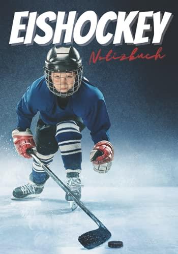 Hockey: Notizbuch zum schreiben, geschenk für hockeyspieler