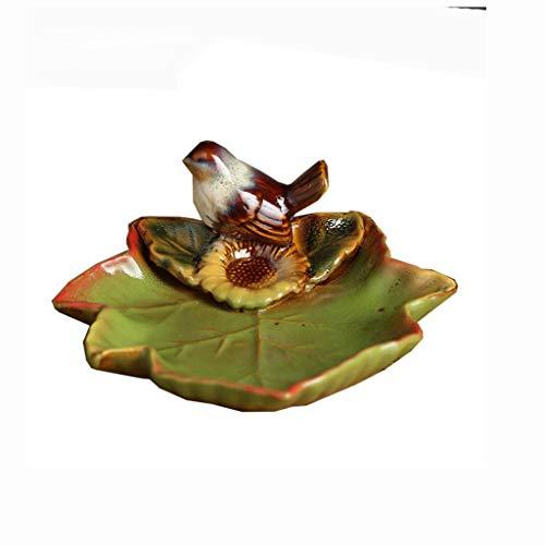 MSchunou Platos de frutas secas, adornos de cerámica, estilo único, diseño único,...