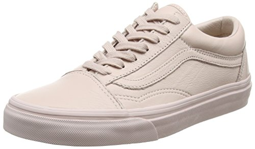 Vans Unisex-Erwachsene Old Skool Skateschuhe, Pink (Leather), 38 EU