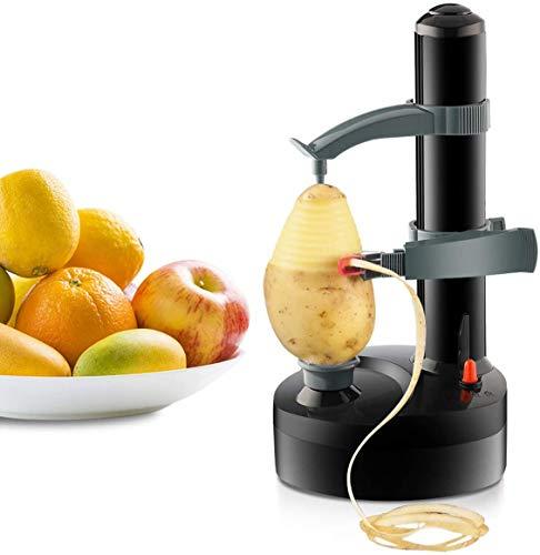 ELEOPTION りんご・なし 皮むき器 りんごむける アップル ピーラー リンゴ 皮むき器 フルーツカッター 野菜 果物 自動皮むき器