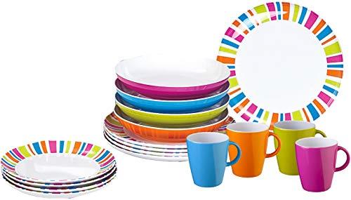 Brunner Lunch Box Spectrum 16 pcs. Antislip