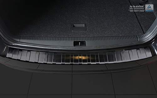 Avisa Ladekantenschutz Fahrzeugspezifische Passform Stoßstangenschutz aus V2A Edelstahl