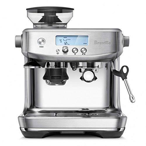 Breville BES878BSS Barista Pro Espresso Machine, Brushed Stainless Steel (Renewed)