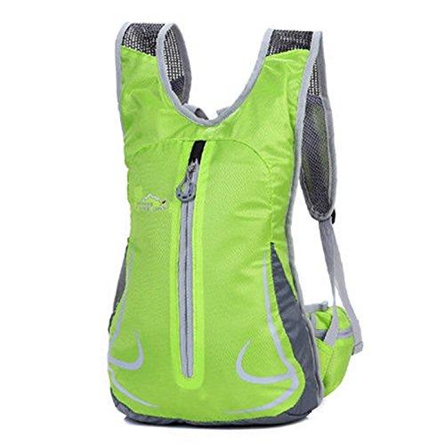 SINCERE@ Équitation sac à dos mâle sac casual épaule femme sac sac de sport vélo sac à dos à dos en plein air ultra-léger (vert)
