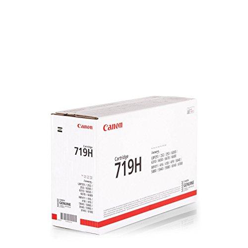 1x Original XL Canon Toner 3480B002 719H 719H für Canon I-Sensys LBP 252 DW - BLACK - Leistung: ca. 6400 Seiten/5% -