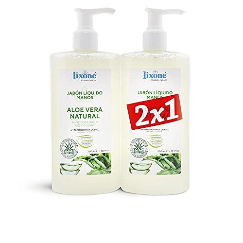 Lixone Aloe Vera Natural Jabon Lote 2 Pz