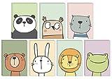 49 Ökofreundliche Tier Grußkarte...