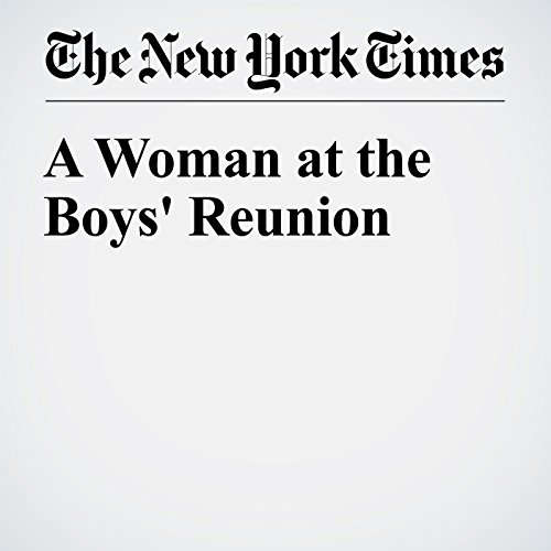 A Woman at the Boys' Reunion audiobook cover art