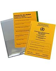 książeczka szczepień, pokrowiec ochronny i karta identyfikacyjna w zestawie – Międzynarodowy certyfikat szczepień i książeczka szczepień