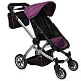 Product Image of the Mommy & Me Deluxe Babyboo Doll Stroller with Swiveling Wheels with Free Carriage...