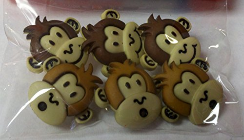 Sewology Silly Monkeys Button Set