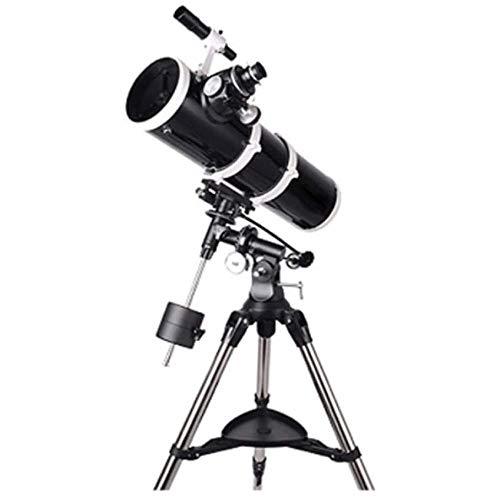 Telescopio Astronómico, Lente Óptica Profesional Recubierta De Estrellas HD 130Mm, Trípode Portátil Almacenamiento para Viajes Al Aire Libre