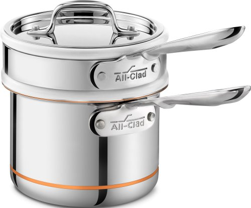 All-Clad 62025SS Copper Core 5-Ply Double-Boiler Insert