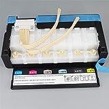 Parte Impresora El Nuevo Sistema de Suministro de Tinta de Tinta CISS Original y 6 amortiguadores de Tinta caben para EPSON L1800 Assembly