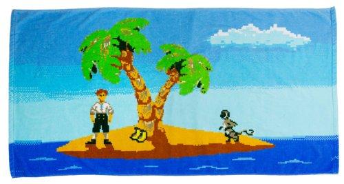 getDigital Badehandtuch Monkey Island 140 x 72 cm