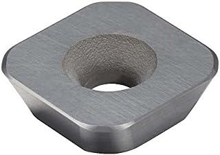 Uncoated L Insert Seat Size N123L1-0800-RS 1 Cutting Edge CD10 Grade 0.1575 Corner Radius Pack of 1 Sandvik Coromant CoroCut 1-Edge PCD Profiling Insert
