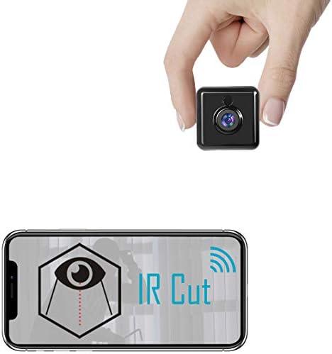 Spy Camera WiFi Hidden Mini Camera Real 1080P HD Wireless Nanny Cam Portable Indoor Outdoor product image