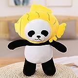Lindo bebé gran oso panda gigante felpa animal de peluche muñeca animales juguete almohada dibujos animados Kawaii muñecas niñas regalos 35Cm