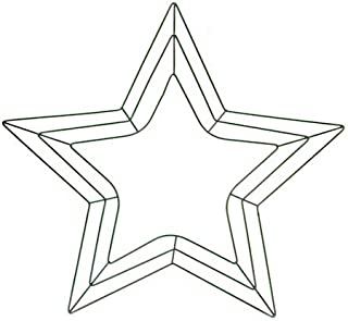 Best star shaped wreath frame Reviews