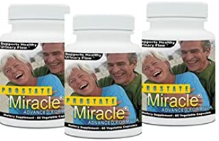 3 pack Prostate Miracle Advanced Formula