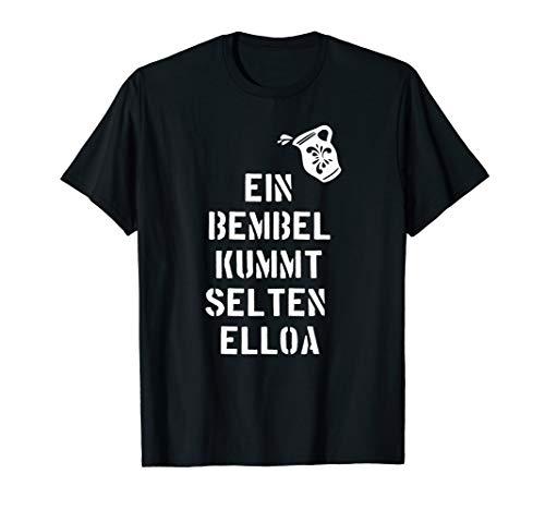 Apfelwein Keltern T-Shirt Fan Geschenk FFM 069 Shirt Design
