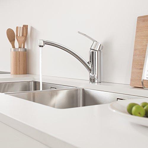 Grohe – Start Küchenarmatur, Schwenkbereich 140°, Easy Exchange Mousseur, Chrom - 4
