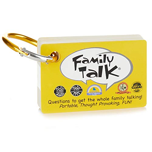 Around the Table Games Family Talk Portable Meaningful Conversation Starters