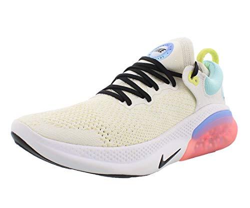Nike Women's Joyride Run Flyknit Running Shoes (7, Summit White/Black/Sunset Bleach/Gl)