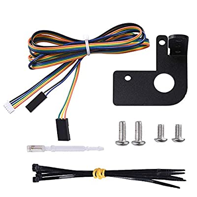 PoPprint BLTouch Automatic Pressure Bed Levelling Sensor Kit for CR20 / 20pro CR10 / 10S / s4 / s5 ENDER-3 / 3S / 3PRO / 5 3D Printer Accessories (NO BL TOUCH)