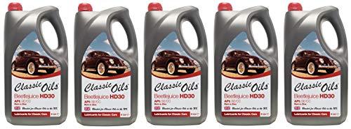 Klassieke oliën bietensap HD30, motorolie voor luchtgekoelde VW, 25 liter