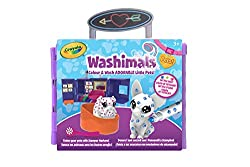 Colour and wash adorable little pets and give them a tattoo makeover with this Tattoo Shop for Washimals Pets! Use markers to draw and colour on pets. Scrub the pets to remove the design, then colour all over again! Keep kids creative for hours. Fold...