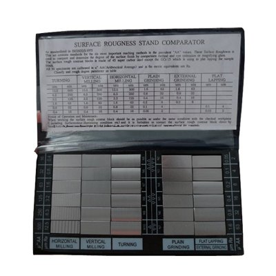 Surface Roughness Comparators Standards Composite Set 6 Machining 30 specimens