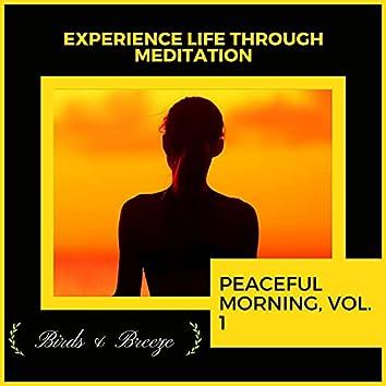 Experience Life Through Meditation - Peaceful Morning, Vol. 1