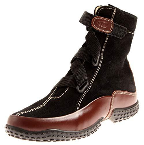 Wolky 1951 Dakota Damen Bootie Knöchelschuhe Boots Kurzstiefel Schuhe Wechselfußbett Schwarz EU 37