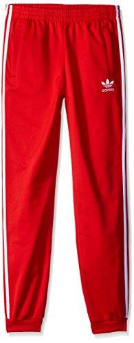 Adidas Originals Superstar - Pantalones de chándal para niño - Rojo - Small