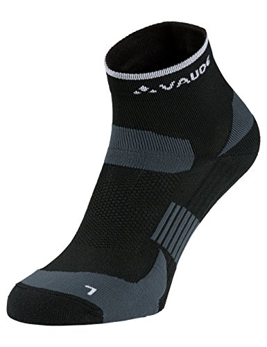 VAUDE Herren Strümpfe Bike Socks Short, black, 45-47, 401340100450