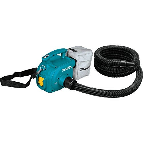 Makita XCV02Z 18V LXT Lithium-Ion Cordless 3/4 Gallon Portable Dry Dust Extractor/Blower, Tool Only