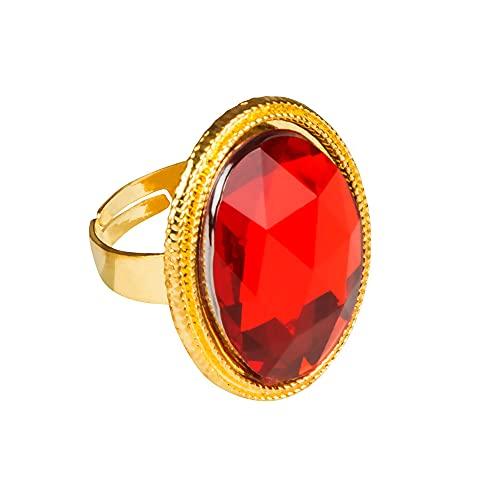Boland 00636 - Conjunto de anillos con piedras preciosas falsas, 8 PC.